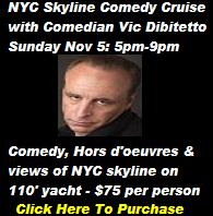 On SaleNow: Vic Dibitetto Comedy Cruise